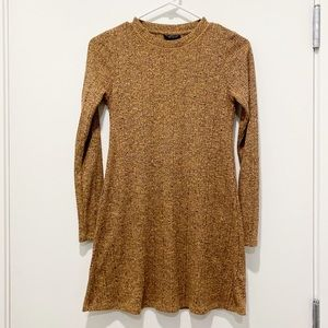 TOPSHOP | Long Sleeve Sweater Dress Size 4